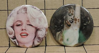 LOT OF 4 Marilyn Monroe Vintage Pinback Buttons LOT 7