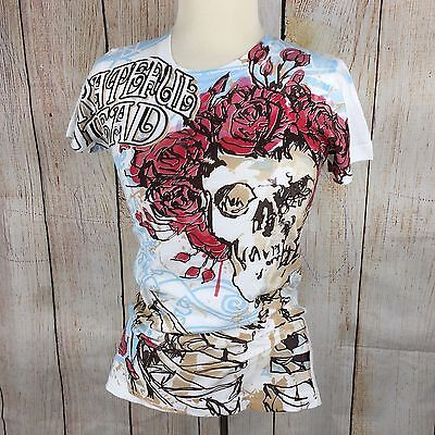 Grateful Dead Silkscreened by Liquid Blue TShirt - Womens Fitted Large