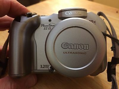 Canon PowerShot S1 IS 32 MP Digital Camera 10X Optical Zoom Silver