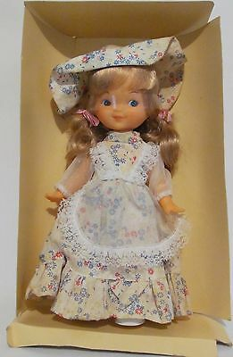 Ginger 1979 Vintage Cute Dainty Floral Doll The Old Fashions Blonde Rooted Hair