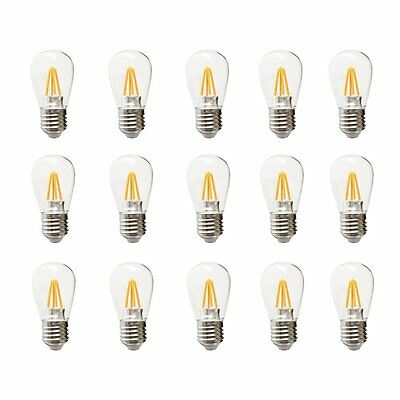 S14 4-Watt Dimmable LED Bulb E27 Base Use to Replace High-Heat incandescent bulb