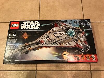 Lego Star Wars The Arrowhead Ship New Sealed HTF 75186 Disney Minifigures