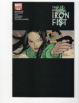 Immortal Iron Fist 2 2nd print variant Marvel 2006 VF/NM NEW unsold store stock