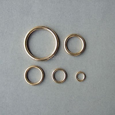 Heavy Duty Cast Solid Brass O Ring 5 Sizes