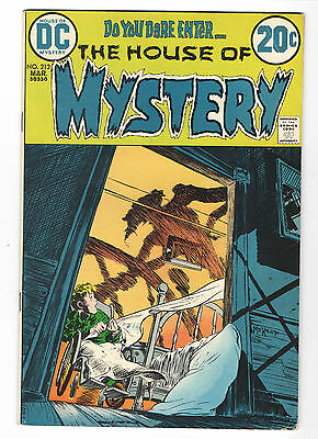 DC  the house of mystery issue 212 mar 1973 VF 9.0
