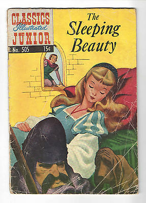 Classic illustrated Jr 3-book lot: sleeping beauty, jack&beanstalk,3 little pigs