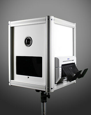 Flairbooth DSLR - Open Air Portable Tablet Print Social Media Photo Booth Shell