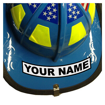 Custom Your Name Reflective Helmet Decal Sticker