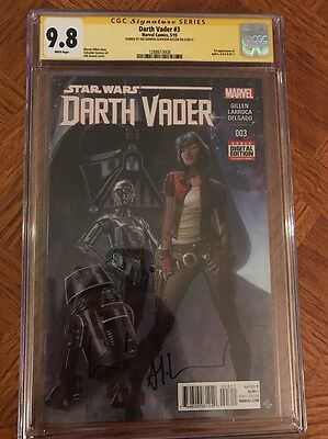 Star Wars Darth Vader (2015 Marvel) #3A CGC 9.8 SS (1288613008) Granov & Gillen
