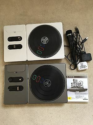 Sony PlayStation PS3 DJ Hero Bundle, Turntable, Game And Mic
