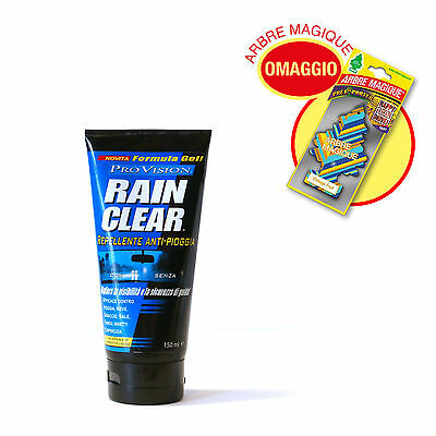 Rain Clear - Gel repellente antipioggia per parabrezza auto