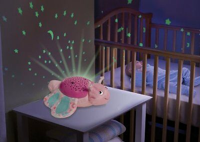 Butterfly Plush Night Light Sound Wall Display Projector Relax Soothe Baby Sleep