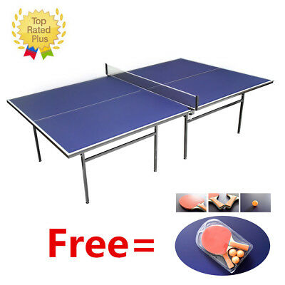 Panana Indoor Outdoor Compact Tennis Table Full Size Ping Pong Professional