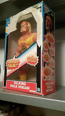 HULK HOGAN Hasbro Vintage Action Figure WWE Official Boxed _ ANNI '80_ PZ. UNICO