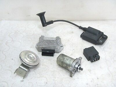 Piaggio NEW TPH from Yr 2010 Electric Ignition Coil CDI Regulator Horn Starter