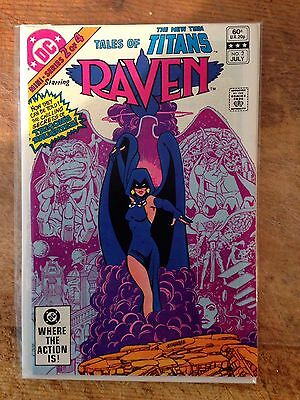 Tales Of The New Teen Titans Raven #2 Origin Issue High Grade