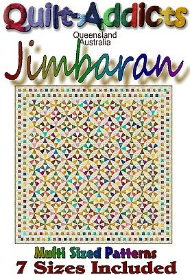 JIMBARAN - MULTI SIZED Quilt-Addicts Patterns