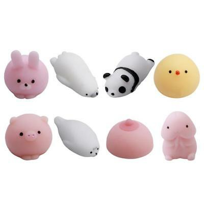 Cute Mini Squeeze Seal Squishy Toy slow Rising Hand Stress Relief Strap New LA