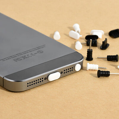 For Apple iPhone 5S 5C iPhone 6S Plus 20X Anti Dust Cap Earphone Plug Stopper CH