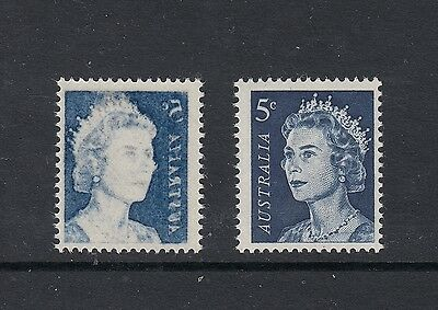 "1967-72 QEII 5¢ Blue SG 386c ""OFFSET (VERY STRONG)"" BW 444c (2002, $75), MUH."