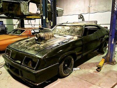 Mad Max Interceptor body kit fibreglass nose cone flares roof wing boot spoiler