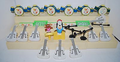 Lot of 26 Tom & Jerry Band 1990 McDonald's Happy Meal Kid's Toys Loose Pieces