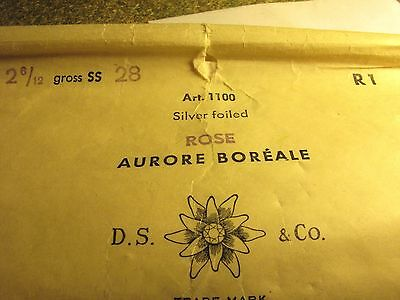 20 x AURORE BOREALE ROSE Vintage Swarovski chaton 6mm Gold foiled - strass
