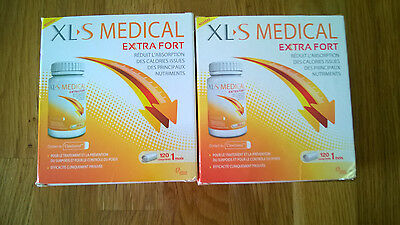 XLS medical extra fort 2 boites de 120 comprimés
