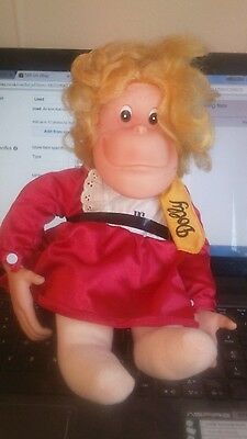 Retro Vintage Dolly From Pg Tips.. Soft Plush Toy Great Condition Free P&p To Uk