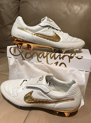 Nike Tiempo Legend V Touch Of Gold Prem FG Limited Edition BNIB Ronaldinho