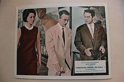 Frankenstein Conquers The World -Set Of 5 Uk Foh Lobby Cards