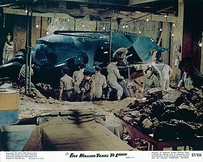 Hammer Films - Quatermass & The Pit Us Lobby Card #5