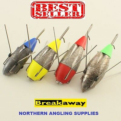 Breakaway Impact Leads All Sizes (packs of 3) Sea Fishing Weights