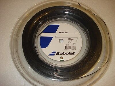 Babolat RPM Blast 200m Reel Tennis String - Gauge 1.25mm