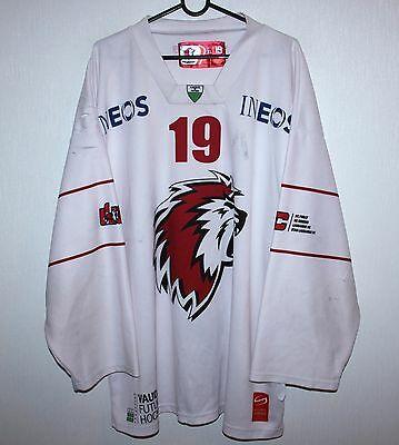 Lausanne HC swiss ice hockey match worn shirt jersey #19 Size XL