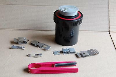 Paterson Developing Tank, system 4, 120 roll film or 35mm film +clips+film wiper