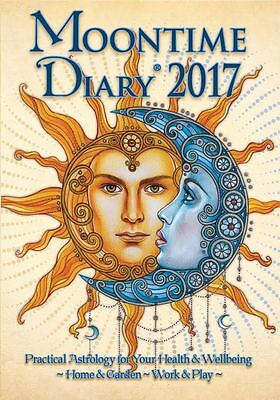 !!SALE!! Moontime Diary 2017 - Wiccan / Pagan / Lunar Cycles - A5 size !!SALE!!