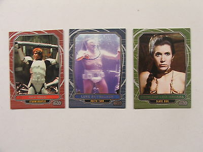 Star Wars - Galactic Files - Series 2 - Complete Card Variant Chase Set (3) - NM
