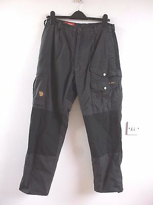 Fjallraven  mens outdoor padded  G1000  Barents trousers EU40 waist 32 inches