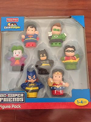 Fisher Price Little People DC Super Friend Figure Pack