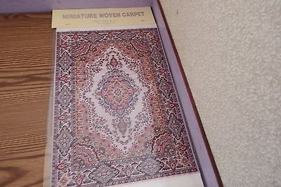 new Dolls House xlarge Turkish Carpet /rug 29cm x20cm 1.12th scale lot BB