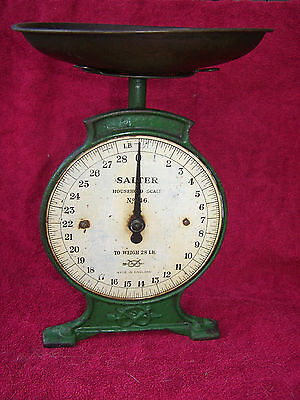 VINTAGE 1920's SALTER HOUSEHOLD SCALES No 46