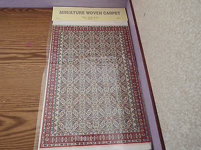 new Dolls House xlarge Turkish Carpet /rug 29cm x20cm 1.12th scale lot FF