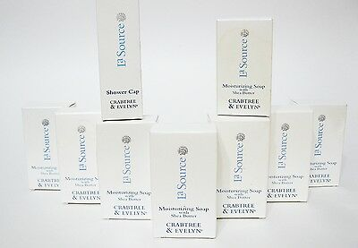 LOT 8 Crabtree & Evelyn La Source Moiturizing Soap Shea Butter Travel size