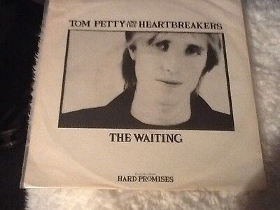 """TOM PETTY and the Heartbreakers UK 1981 7"""" Single vinyl record.   THE WAITING"""