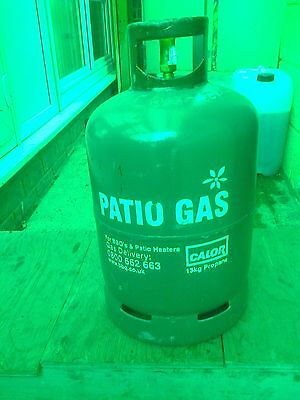 13kg Calor patio gas propane bottle,Full,with seal still in.No return needed.