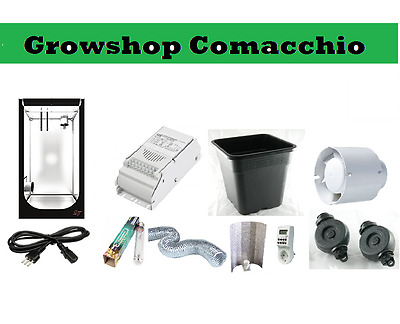 Kit growbox small 40x40x120 coltivazione indoor 150w hps