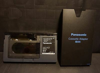 Panasonic  VHS-C / S-VHS-C CAMCORDER TAPE / CASSETTE TO FULL SIZED VHS ADAPTER
