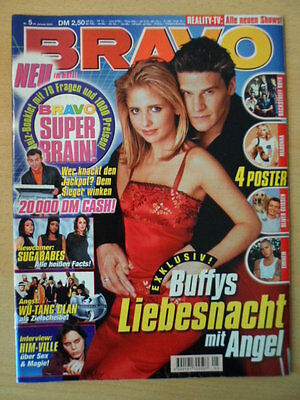BRAVO 5 -24.1. 2001 Buffy & Angel Ville Valo Sugerbabes Wu-Tang Clan Big Brother