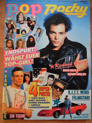 POP ROCKY 13-1991 (0) Richard Grieco Chris Isaak Janet Jackson Madonna Scorpions